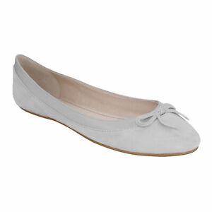 Buffalo Annelie Damen - bequeme Leder Ballerinas | Schuhe | Flats | flach - NEU