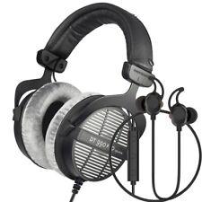 Beyerdynamic DT990 Pro 250 Ohm Open Back Headphones w/ Force Audio Twin Earbuds