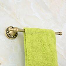 Bathroom Accessory Wall Mounted Antique Brass Single Towel Rail Bar