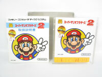 SUPER MARIO BROTHERS 2 Nintendo Famicom Disk Japan Game dk