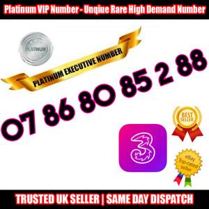 PLATINUM Number - VIP Executive Sim - 07 86 80 85 2 88 - Easy to Remember