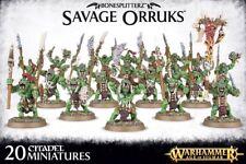 Bonesplitterz Savage orruks Warhammer Age of sigmar Games Workshop wildorks
