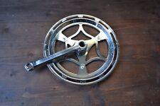 VINTAGE THUN 46 T PARACATENA DRIVE LATO DESTRO Cottered Manovella solo Junior 147.5 mm