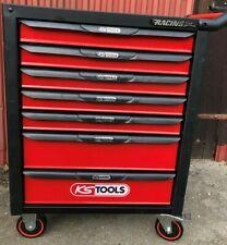 KS Tools 826.0007 RACINGline Werkstattwagen mit 7 Schubladen Rot / Schwarz leer