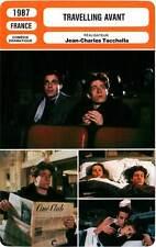 FICHE CINEMA : TRAVELLING AVANT - Frémont,Glass,Tacchella 1987