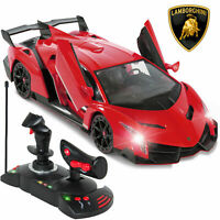 1/14 Scale RC Lamborghini Veneno Realistic Driving Car Toy Gravity Sensor Model