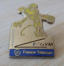 PIN'S BD MARSUPILAMI FF GYM FRANCE TELECOM ARGENT FEDERATION FRANCAISE EGF