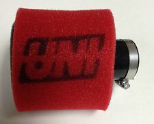 "UNI UNIVERSAL ANGLED 2 STAGE POD AIR FILTER FITS 1-1/4"" FREE SHIPPING!"