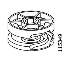 2x Ikea Eccentric Case Cam-Lock Nut Small 25mm Diameter Part # 115349