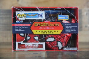 Funko Pop! SPIDER-MAN HOMECOMING Limited - Edition Gift Box Walmart Exclusive