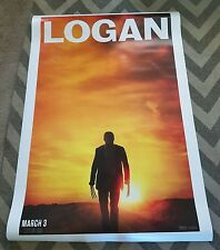 Logan 4Ft x 6Ft Double Sided Movie Theater Bus Shelter Giant Poster Wolverine