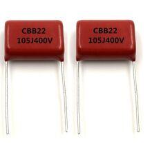 10PCS CBB22 Capacitor 400V 105J 1uF 400V/105J Pitch 20mm 22*14*7MM AU