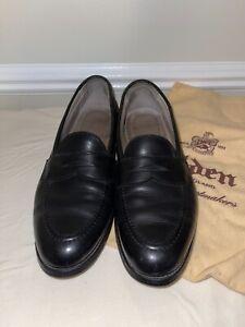ALDEN Penny Loafer Flex Welt Dress Shoes    9695F    Sz 10 B/D    Retail $559