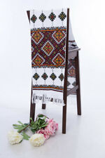 Ukrainian Rushnyk 200x33 cm Wedding Towel Hand Cross-Stitch Rustic WEDDING decor