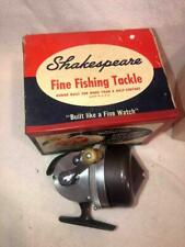 VINTAGE OLD FISHING REEL SHAKESPEARE WONDER CAST 1777 4 tackle box lure bait