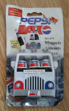 Pepsi Set of 4 Magnets - NEW 1997 Vintage 33510