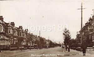 Early ABBEY WOOD  McLeod Road LONDON   Molyneux Bros Photo Postcard