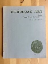 ETRUSCAN ART from West Coast Collections MARIO A. CHIARO Art Gallery UCSB 1967