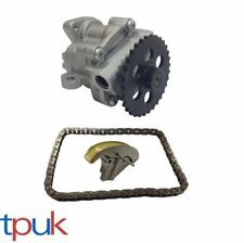 FORD TRANSIT OIL PUMP, CHAIN AND TENSIONER KIT 2.4 2.0 RWD FWD UP TO 15/5/2003