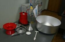 Milk cream electric centrifugal separator Metal 100L/h NEW! model-15