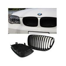 2 GRILLE DE CALANDRE NOIR BRILLANT BMW SERIE 1 E81 E82 E87 E88 PHASE 2