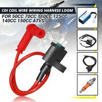 5pcs CDI Coil Wiring Kit Spark Plug For 50cc 70cc 110cc 125cc 140cc 150cc Moped