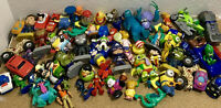 Huge 70+ PIECES Lot Small Collectible Toys Figures Prize Favor Reward VALUE Look