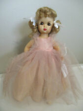 Doll Terri Lee Tiny Terri in Pink Long Formal  No  Panties Tagged 1950s