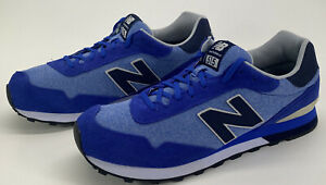 New Balance 515 Mens Size 16 D Classic Lifestyle Walking Running Blue Suede