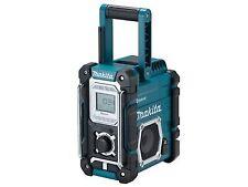 Makita DMR108 Radio With Bluetooth and Mobile USB Charging Sock - Blue