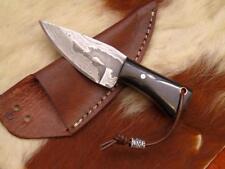 Damast Mini Messer, sehr schönes Hand geschmiedetes Messer 4153