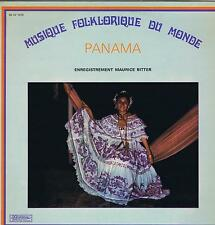 LP PANAMA  MUSIQUE FOLKLORIQUE DU MONDE MAURICE BITTER