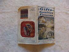 1922 Original Novelties And Firearms Catalog