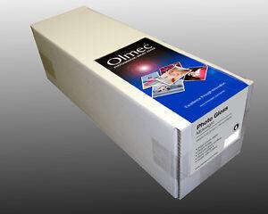 "Olmec 240gsm Photo Glossy Inkjet Paper 17"" x 30m Roll (OLM63R17)"