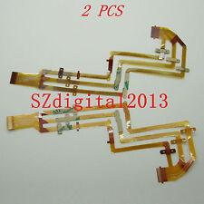 2PCS/ NEW LCD Flex Cable For Sony DCR- SX85E SX45E SX65E CX130E CX180E
