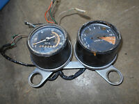 honda sl350 sl 350 speedometer dash gauges meter panel 1969 1970