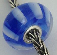 Authentic Trollbeads Ooak Murano Glass Unique Bead Charm #139, 15mm Diameter New