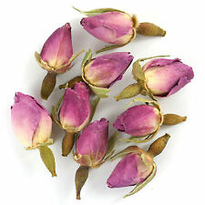 Pink Rose Buds Dried Whole (Rose Bud) Premium Loose Herbal Tea - Chiswick Tea C