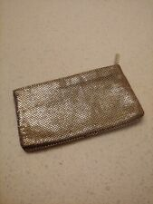 Vintage Whiting & Davis Gold Mesh Small Purse