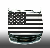 H63 CHECKERED FLAG Hood Wrap Wraps Decal Sticker Tint Vinyl Image Graphic