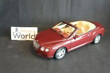 Minichamps Bentley Continental GTC 2006 1:18 red metallic (KM)
