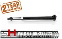 2 REAR SHOCK ABSORBERS AUDI A6/AVANAT (4B, C5)/SKODA SUPERB (3U4)/GH-334772K