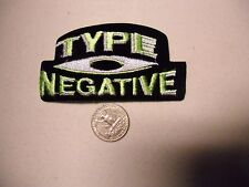 Type O Negative FUZZY doom metal bloody SEW/IRON ON EMBROIDERED PATCH NEW