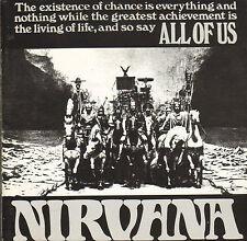 NIRVANA - All Of Us (1994 CD REISSUE OF ORIGINAL 1968 LP)