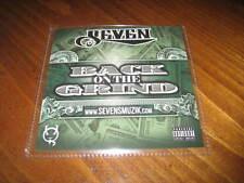 Chicano Rap CD SEVEN - Back on the Grind - Sick Jacken ALT the Saint CYNIC