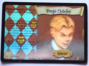 Harry Potter tcg Draco Malefoy 2/116 BS holo french français