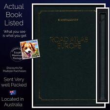 Bartholomew Road Atlas Of Europe In Slipcase 1980 Edition Leatherette Finish