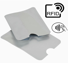 2 RFID Blocking Sleeve Contactless Card Identity Theft Protector Shield Secure