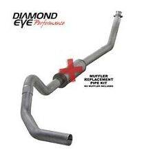 "Diamond Eye 4"" Turbo back exhaust 2003-04 Dodge Ram 2500 3500 Diesel No Muffler"