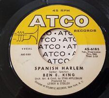 Ben E. King Spanish Harlem / First Taste of Love R&B Soul 45 Vinyl Record VG+/NM